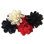Curls & Pearls 4-Pack Flower Headbands