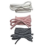 Curls & Pearls 3-Pack String Bow Headbands