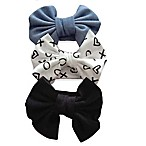 Curls & Pearls 3-Pack Large Bow Headbands