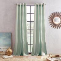 Skylar 63-Inch Grommet Window Curtain Panel in Jade