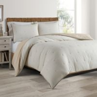 Real Simple® DUO Sausalito King Coverlet/Duvet Cover Set in Taupe