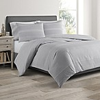 Real Simple® DUO Driftwood Full/Queen Coverelet/Duvet Set in Grey