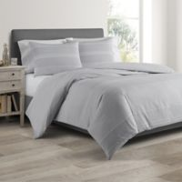 Real Simple® DUO Driftwood Twin Coverlet/Duvet Cover Set in Grey