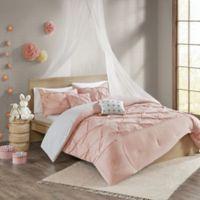 Urban Habitat Kids Aurora Cotton Reversible 4-Piece Twin/Twin XL Comforter Bedding Set