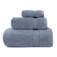 ED Ellen DeGeneres 3-Piece Kindness Bath Towel Set in Washed Indigo