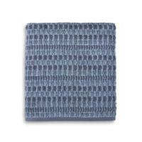 Style Lounge Geometric Cotton Bath Towel in Indigo