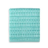 Style Lounge Geometric Cotton Bath Towel in Teal