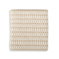Style Lounge Geometric Cotton Bath Towel in Sand