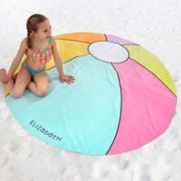 Beach Ball 60-Inch Round Beach Towel