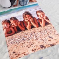 Time To Smile Photo Beach Blanket