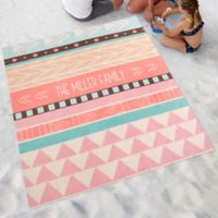 Bohemian Chic Beach Blanket