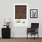 GII Deluxe Sundown 31-Inch x 64-Inch Cordless Mini Blind in Mahogany