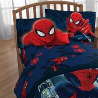 Marvel® Spiderman Saving The Day Twin Sheet Set