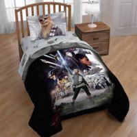 Star Wars™ Episode 8 Epic Poster Reversible Full/Queen Comforter in Black