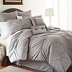 Ella 8-Piece King Comforter Set in Grey