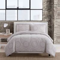Barcelona 3-Piece King Comforter Set in Taupe