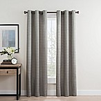 Roland 84-Inch Grommet Room Darkening Window Curtain Panel Pair in Grey