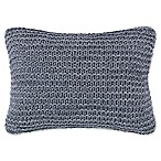 ED Ellen DeGeneres Jaspe Oblong Throw Pillow in Dark Blue