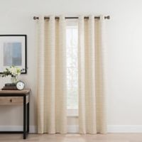 Roland 95-Inch Grommet Room Darkening Window Curtain Panel Pair in Ivory