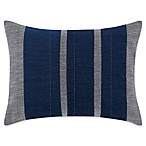 ED Ellen DeGeneres Jaspe Velvet Oblong Throw Pillow in Dark Grey