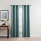 Roland 84-Inch Grommet Room Darkening Window Curtain Panel Pair in Spa