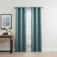 Roland 63-Inch Grommet Room Darkening Window Curtain Panel Pair in Spa