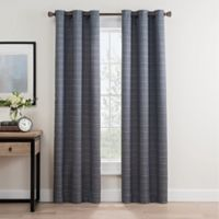 Roland 108-Inch Grommet Room Darkening Window Curtain Panel Pair in Indigo