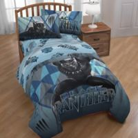Marvel® Black Panther Tribe Reversible Twin Comforter in Blue