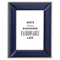 kate spade new york Charles Lane™ 5-Inch x 7-Inch Frame in Indigo