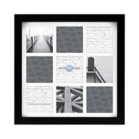 Gallery Matted Wood 9-Photo Picture Frame