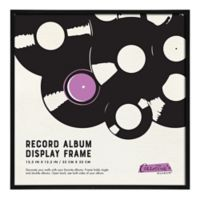 Gallery Collectible Record Album Frame in Black