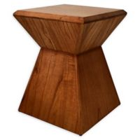 222 Fifth Pratt Wood Accent Table in Brown