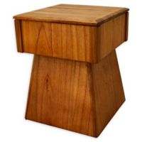 222 Fifth Wood Accent Table in Brown