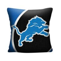 NFL Detroit Lions Woven Square Throw Pillow