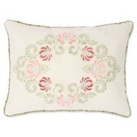 Nostalgia Home™ Eve Oblong Throw Pillow in Ivory/Sage