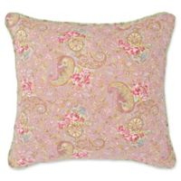 Nostalgia Home™ Eve Square Throw Pillow in Ivory/Sage