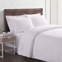 Brooklyn Loom Linen King Sheet Set in White