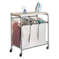 Buy Household Essentials Seagrass Triple Laundry Sorter W