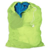 Honey-Can-Do® 2-Pack Mesh Laundry Bag in Lime Green