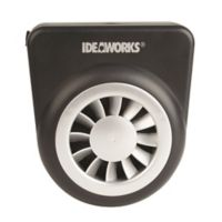 IdeaWorks® Solar Auto Fan in Black/Silver