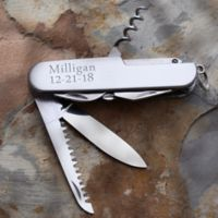 13 Function Stainless Steel Pocket Knife