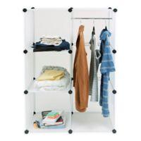 Mind Reader Multi-Purpose and Wardrobe Magic Cube