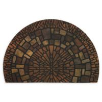 "Mohawk Home® Exploded Medallions 23"" x 35"" Recycled Rubber Slice Door Mat"