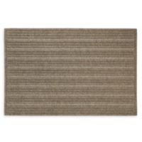 """Mohawk Home® Impressions Ribbed 24"""" x 36"""" Door Mat in Chestnut"""