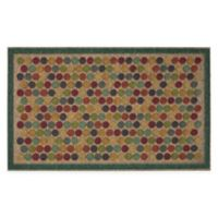 "Mohawk Home® Ornamental Entry Dots Impressions 18"" x 30"" Multicolor Door Mat"