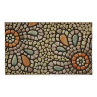 "Mohawk Home® Doorscapes Bohemian Pebble 18"" x 30"" Multicolor Door Mat"