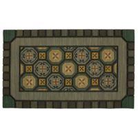"Mohawk Home® 18"" x 30"" Mexicali Tiles Multicolor Door Mat"