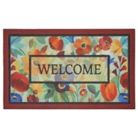 "Mohawk Home® Stain Glass Flowers 18"" x 30"" Multicolor Door Mat"