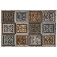 "Mohawk Home® Masonry Foliage 23"" x 35"" Multicolor Door Mat"