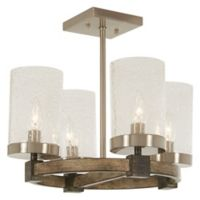 Minka-Lavery® Bridlewood 4-Light Island Pendant in Stone Grey